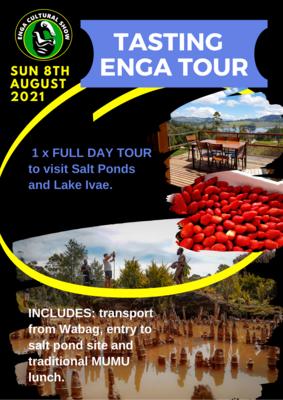 TASTING ENGA TOUR - SUN 8TH AUGUST 2021
