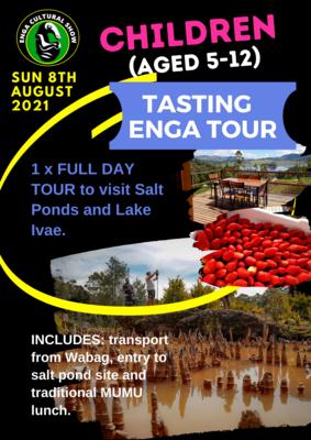 CHILD TASTING ENGA TOUR - SUN 8th AUGUST 2021