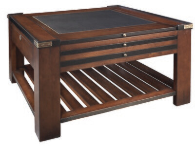 GAME TABLE, BLACK