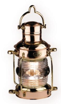 ANCHOR LAMP - BRASS & COPPER