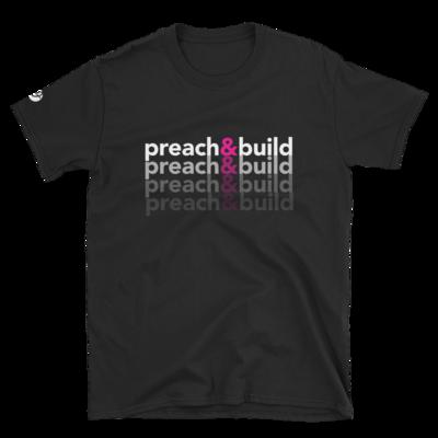 Ladies Preach. Build. Repeat. T-Shirt