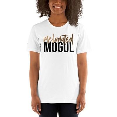 Melanated Mogul (black letters)