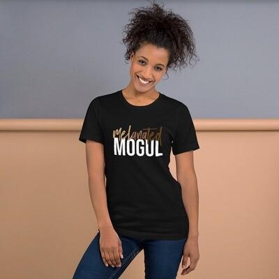 Melanated Mogul (white letters)