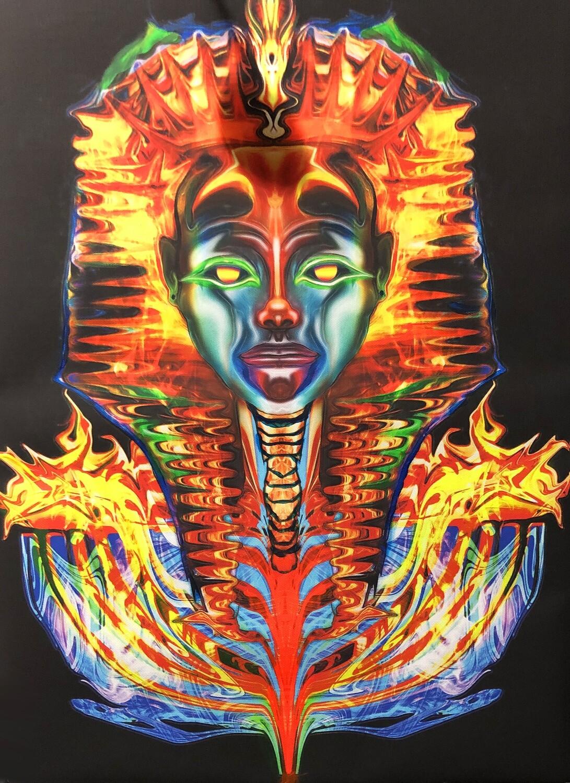 Immortal Pharaoh 18x 24 original acrylic on canvas