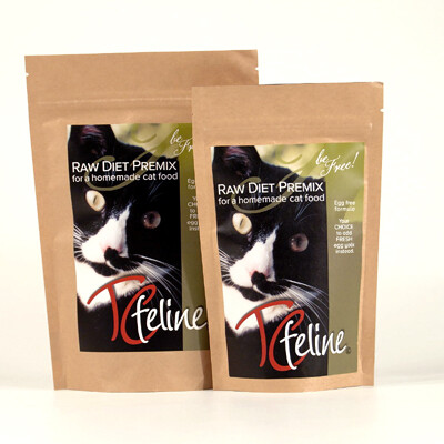 TC Feline Raw Cat Food Premix