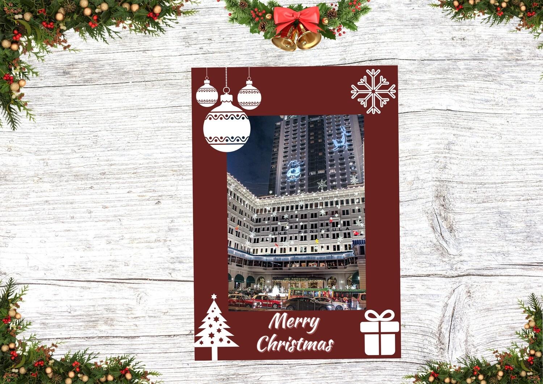 HK Christmas Card 5 (Christmas in The Peninsula Hong Kong