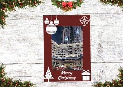 HK Christmas Card 5 (Christmas in The Peninsula Hong Kong