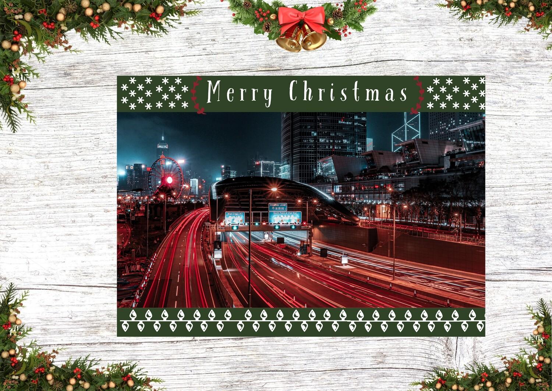 Christmas Card 2 (Long Exposure Christmas)