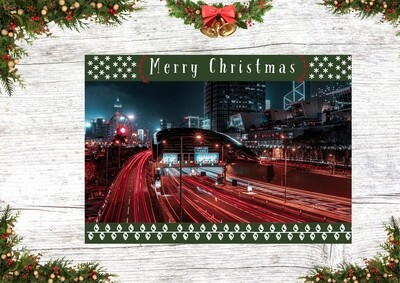 HK Christmas Card 2 (Long Exposure Christmas)