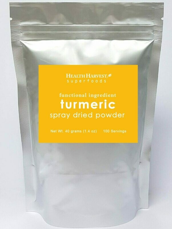 (F1) Functional Food Powder : Turmeric / Ginger  / Mangosteen Rind / Cinnamon