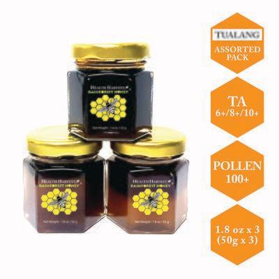(E1) Tualang Honey Tasting Pack 50g / 1.8oz x 3