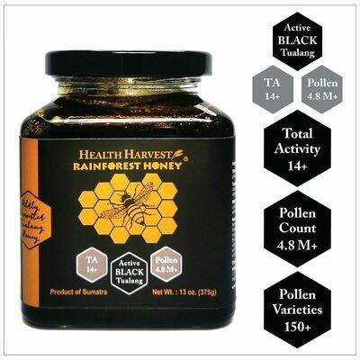 (B2) [Premium Seasonal] Tualang Black Honey 375g / 13oz