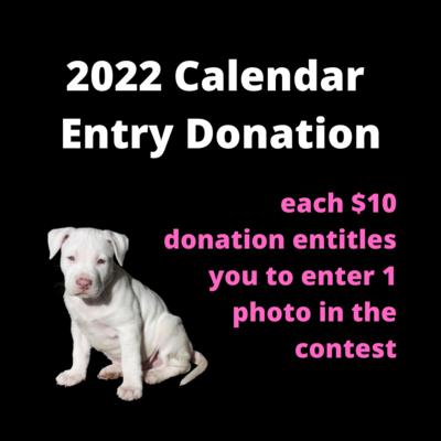 2022 Calendar Entry Donation