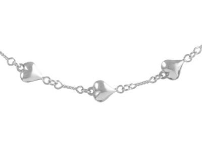 Silver Handmade Bracelet, 7.5