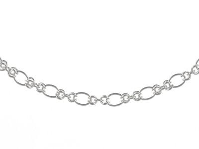 Silver Handmade Bracelet 8.5