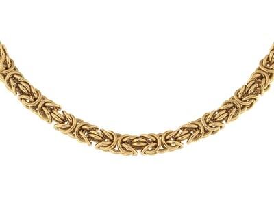 9ct Handmade Byzantine Bracelet 8