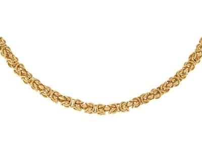 9ct Handmade Byzantine Bracelet 7.5