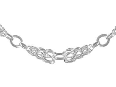 Stirling Silver Handmade Bracelet 7.5