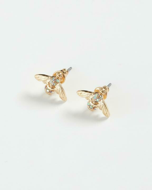 FABLE Pave Bee Earrings