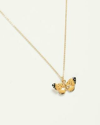 FABLE Yellow Butterfly Necklace