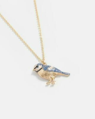 FABLE Blue Tit Necklace