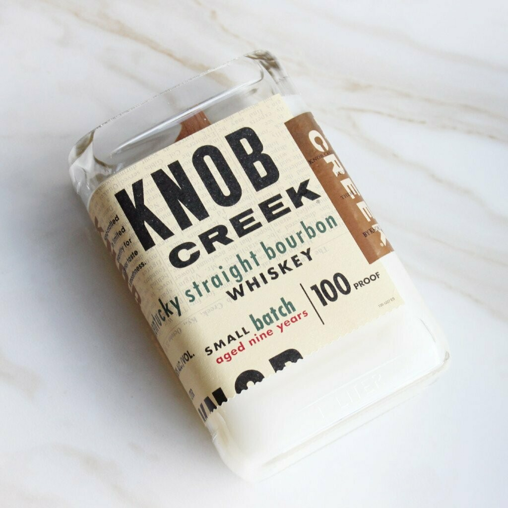Knob Creek Candle