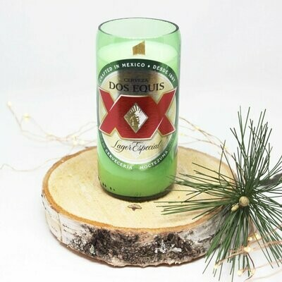 Dos Equis Beer Candle