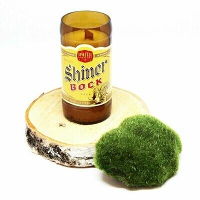 Shiner Bock Beer Candle