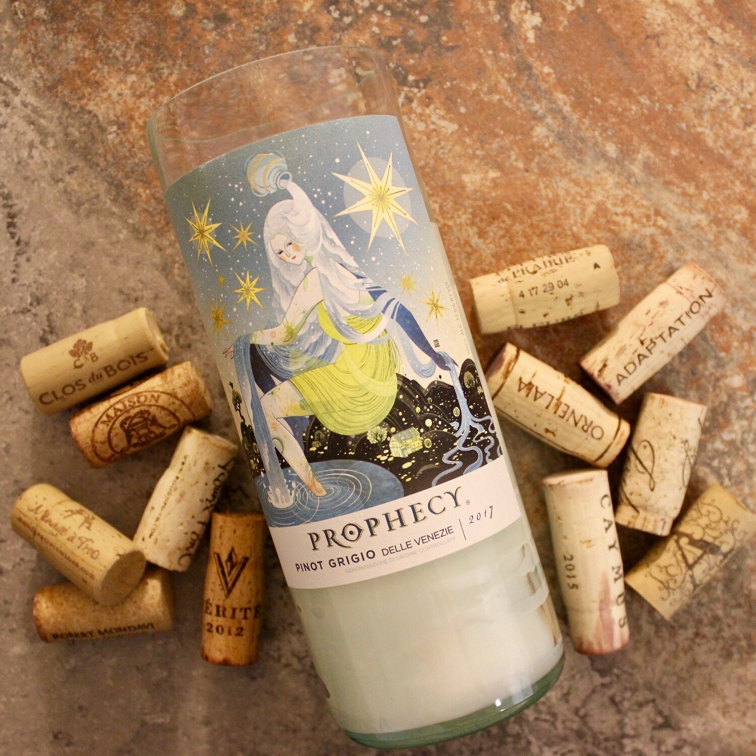 Prophecy Pinot Grigio Wine Candle