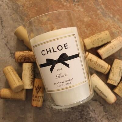 Chloe Rose Wine Candle