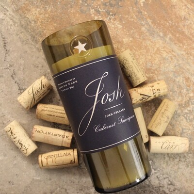Josh Wine Candle