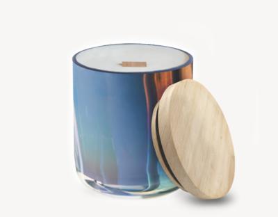 Iridescent Slate Candle