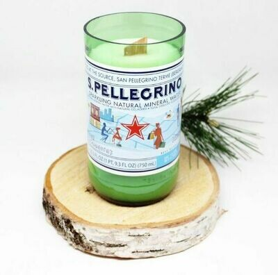 750ml Pellegrino Candle Package