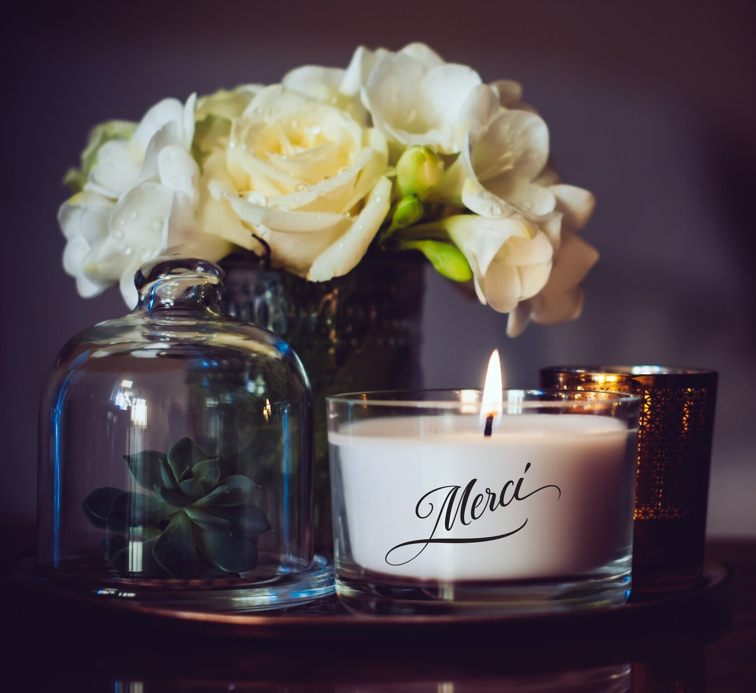 Merci Medium Candle