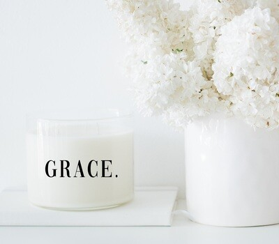 GRACE. Wholesale Candle Set of 6