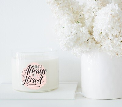 Always In My Heart Wholesale Candle Set of 6