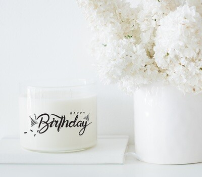 Happy Birthday Wholesale Candle Set of 6