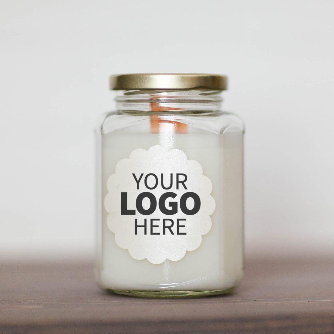 12 oz. Logo Jar Candle Package