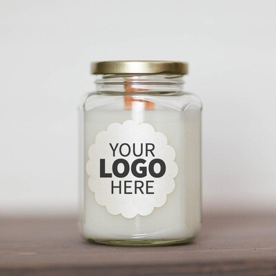 12 oz. Logo Jar Candle Package