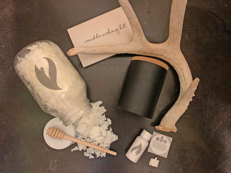 Black Jar Candle Making Kit