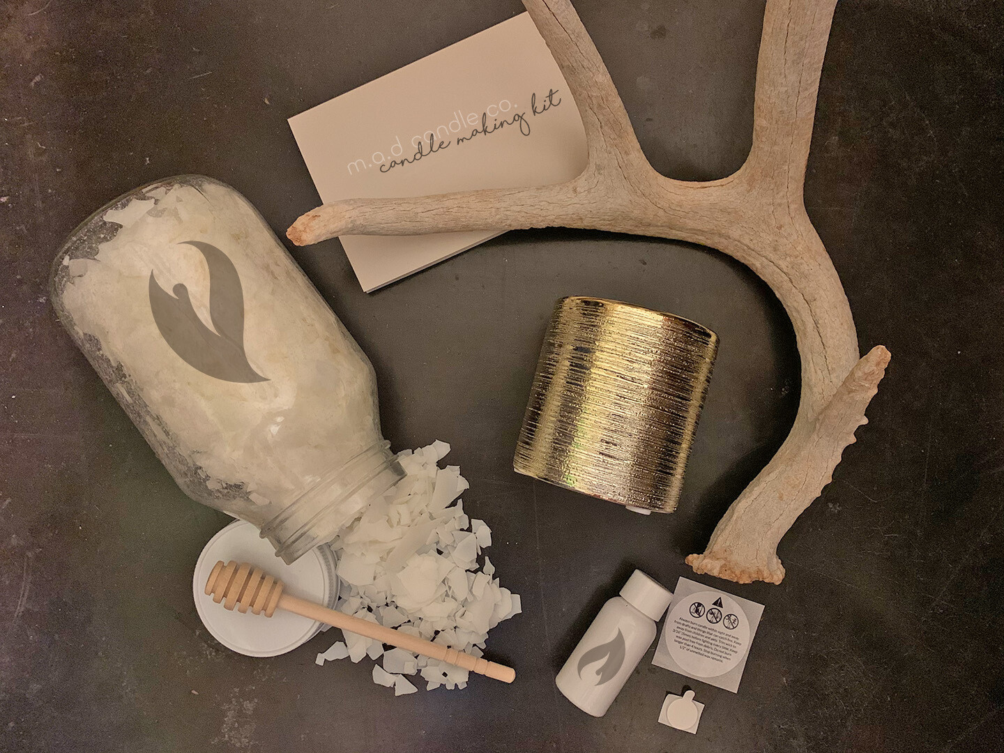 Gold LUX Candle Making Kit