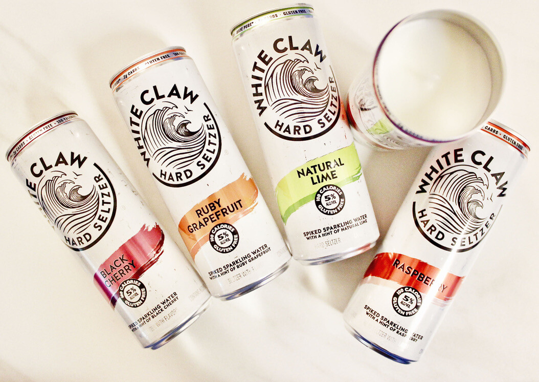 White Claw Variety Candle Package