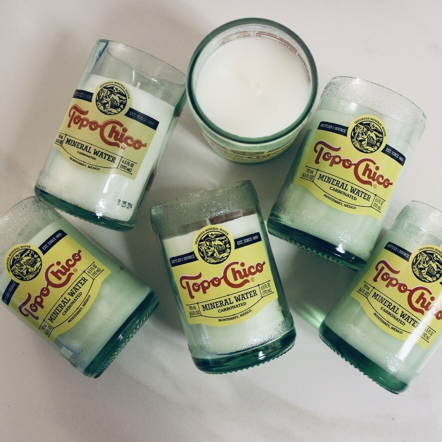 Mini Topo Chico Candle Package