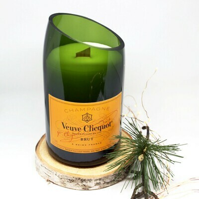 MAGNUM Yellow Label Champagne Candle