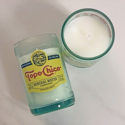 Mini Topo Chico Candle Set of 2