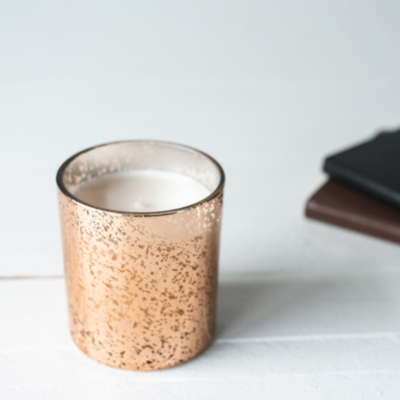 COPPER MERCURY TUMBLER Candle