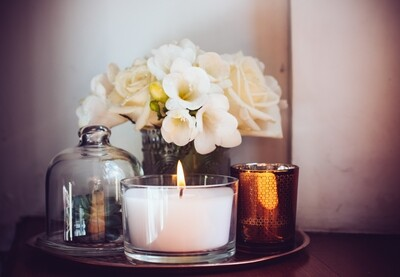 Medium BLANK Tumbler Candle Package