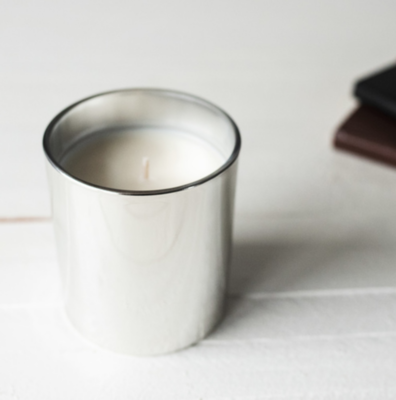 Silver Plated Tumbler Candle Package