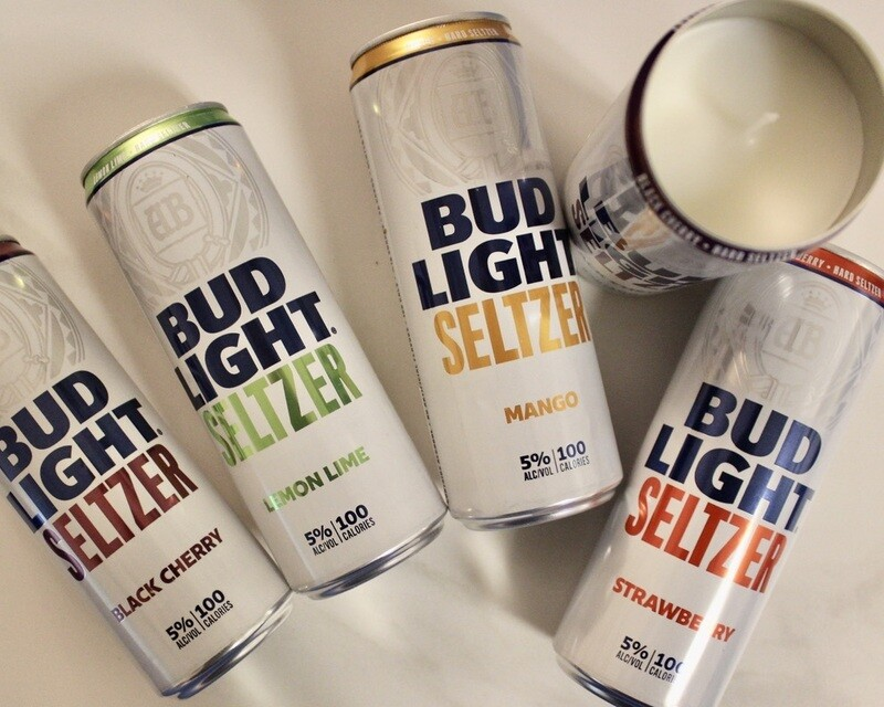 Bud Light Seltzer Variety Candle Package