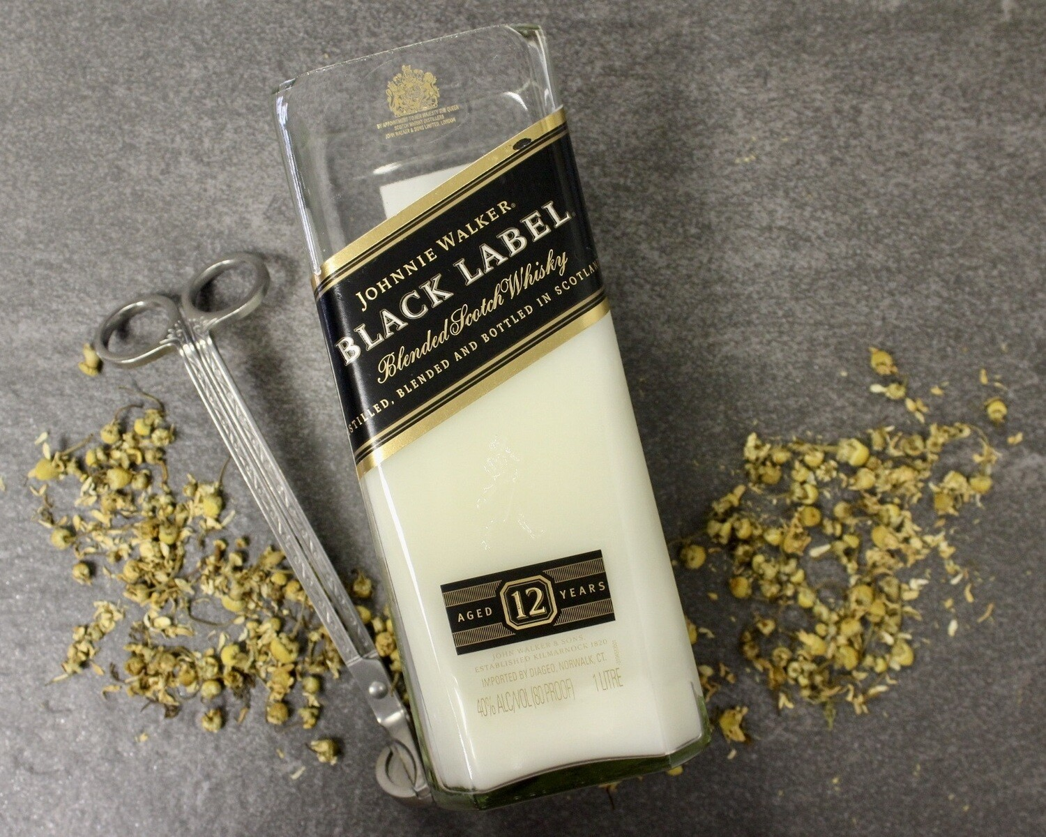Johnnie Walker Black Label Candle